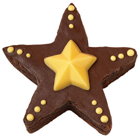 Party Star Brownies