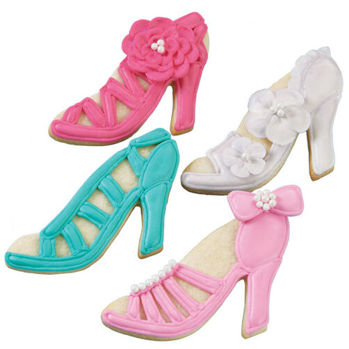Barbie's Favorite Shoes Cookies