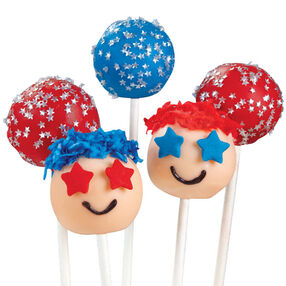 Starry-Eyed Cake Pops