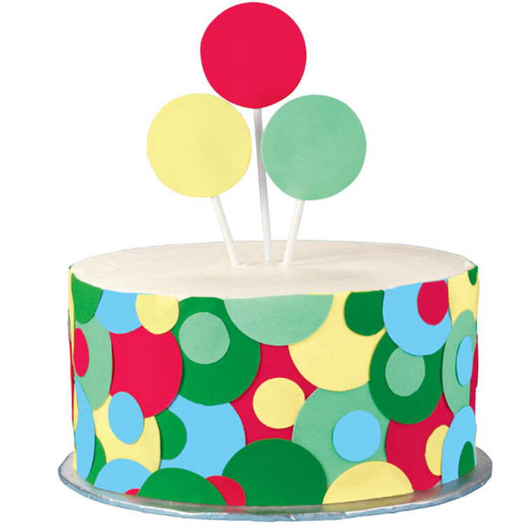 The Party's A-Poppin' Cake