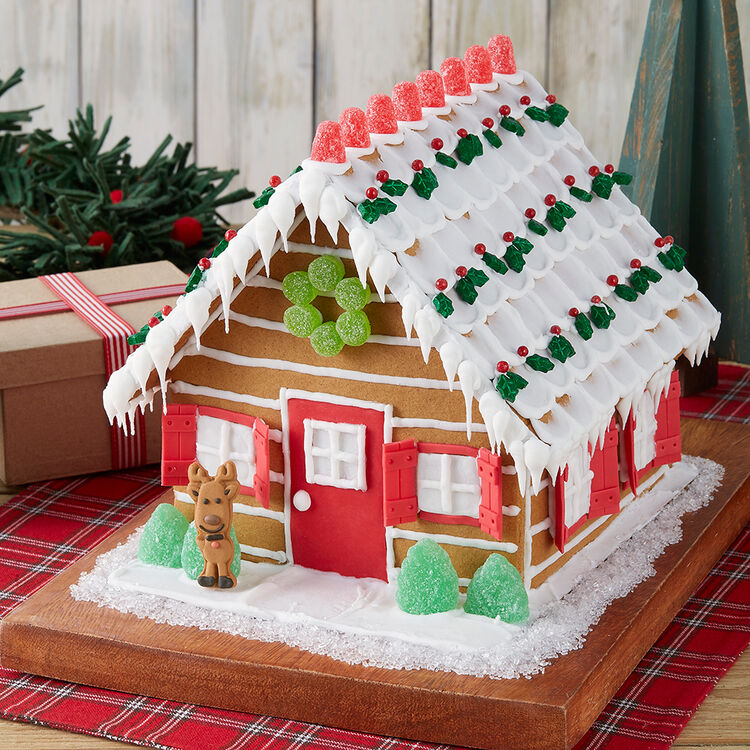 Nature Lover?s Gingerbread Cabin #2