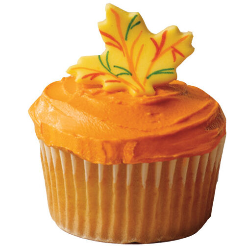 Rake in the Treats Fall Cupcake Idea