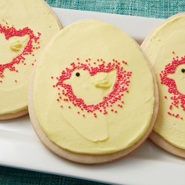 Chick in the Egg Cookies