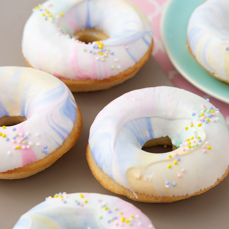 Marble-ous Springtime Doughnuts image number 0