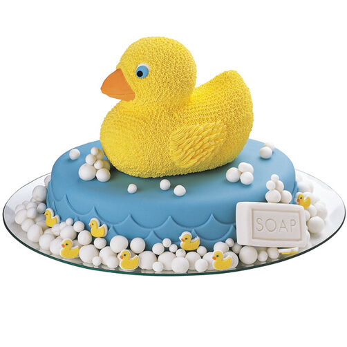 Bathtime's Just Ducky Cake
