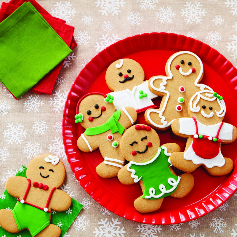 Gingerbread Man Cookie Kit Wilton