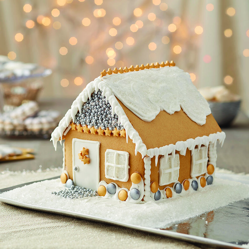 More Bling at the Holidays House Gingerbread House image number 0