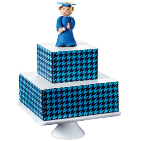 Step Up to Success Graduation Cake