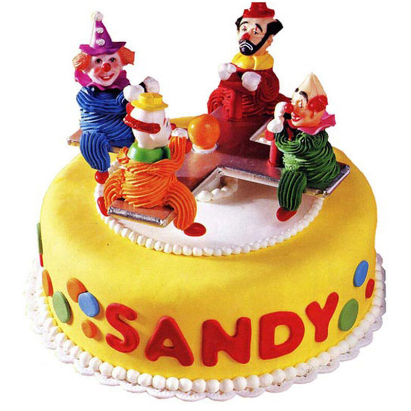 Merry Clown Go Round Cake image number 0