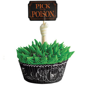 Pick your Poison Cupcakes