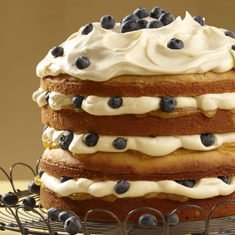 Lemon Blueberry Torte image number 0