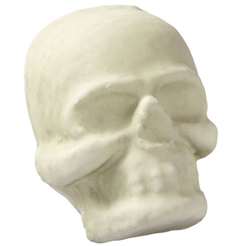 Glaring Gray Skull Mini Cakes