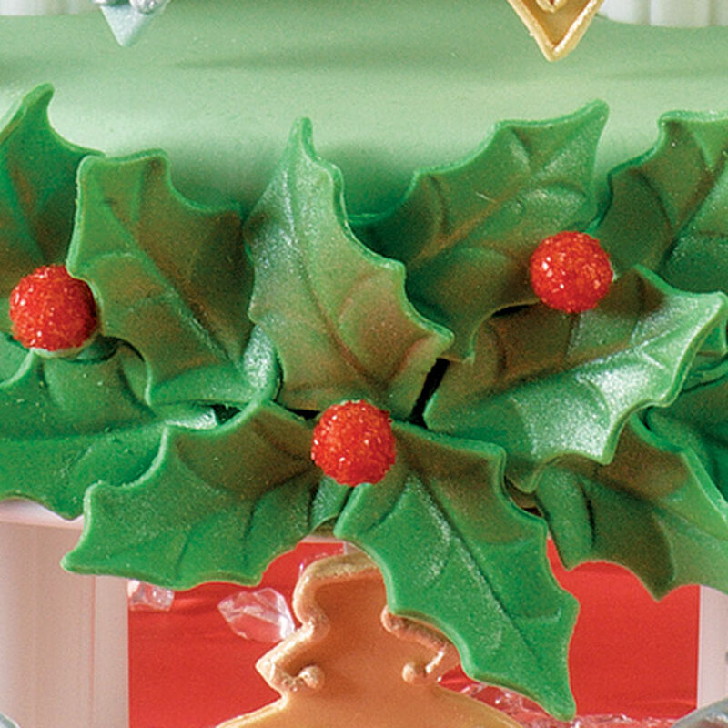 Fondant Holly image number 0