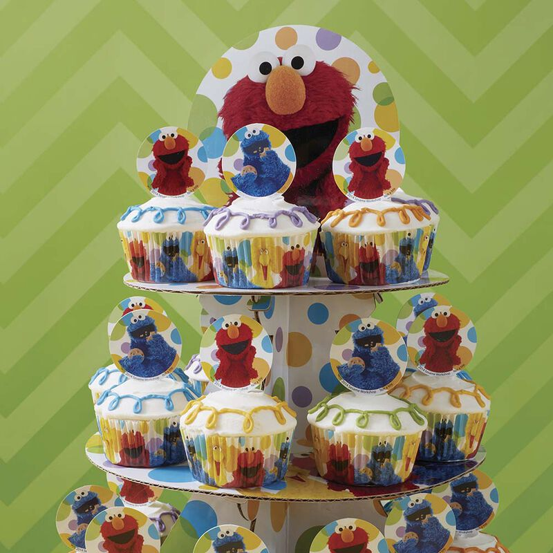 Simple & Fun Sesame Street Cupcakes image number 0