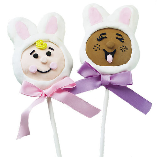 Ears to Easter Cookie Pops