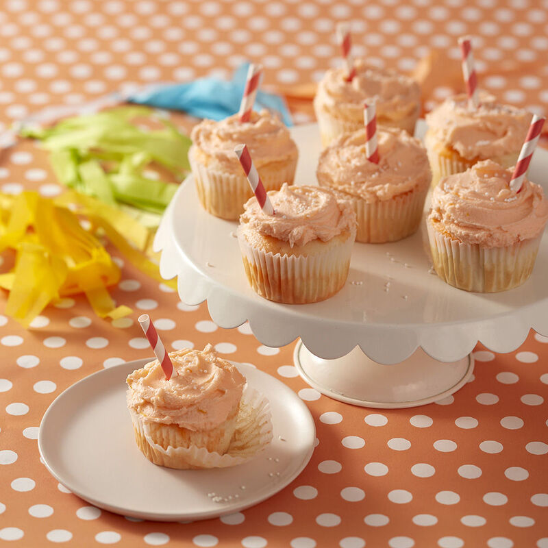 Zesty Orange Cupcakes Recipe image number 0