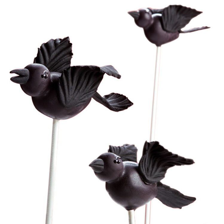 An Air of Darkness Cake Pops