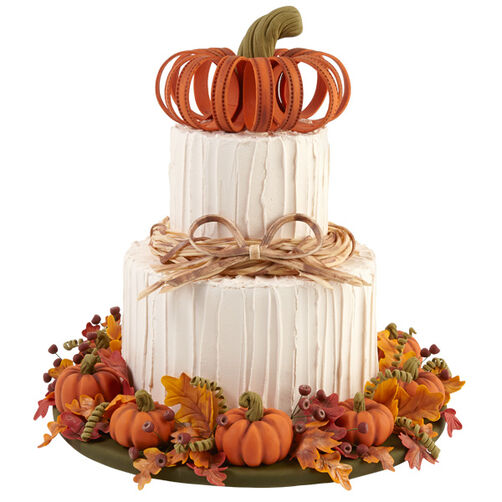 Welcome to Our Home Autumn Cake