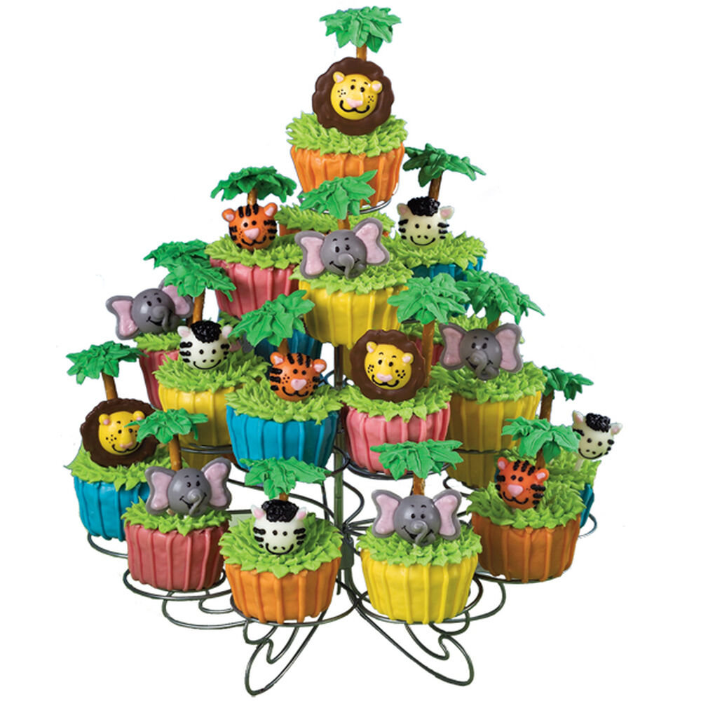 Jungle Gems Cupcakes Wilton