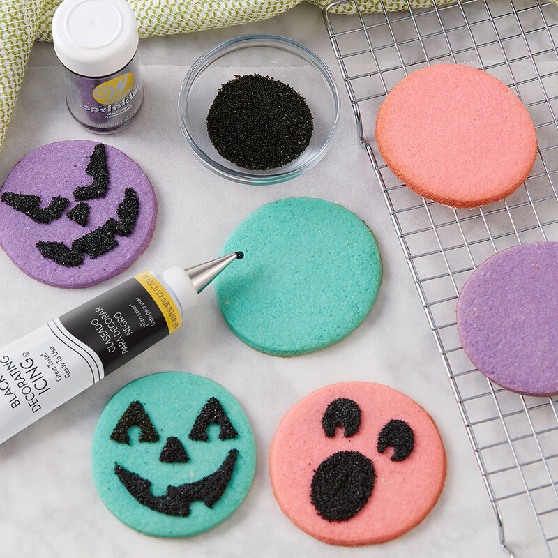 Spooky Face Cookies image number 2