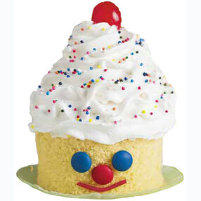 Clown A Round! Mini Cakes