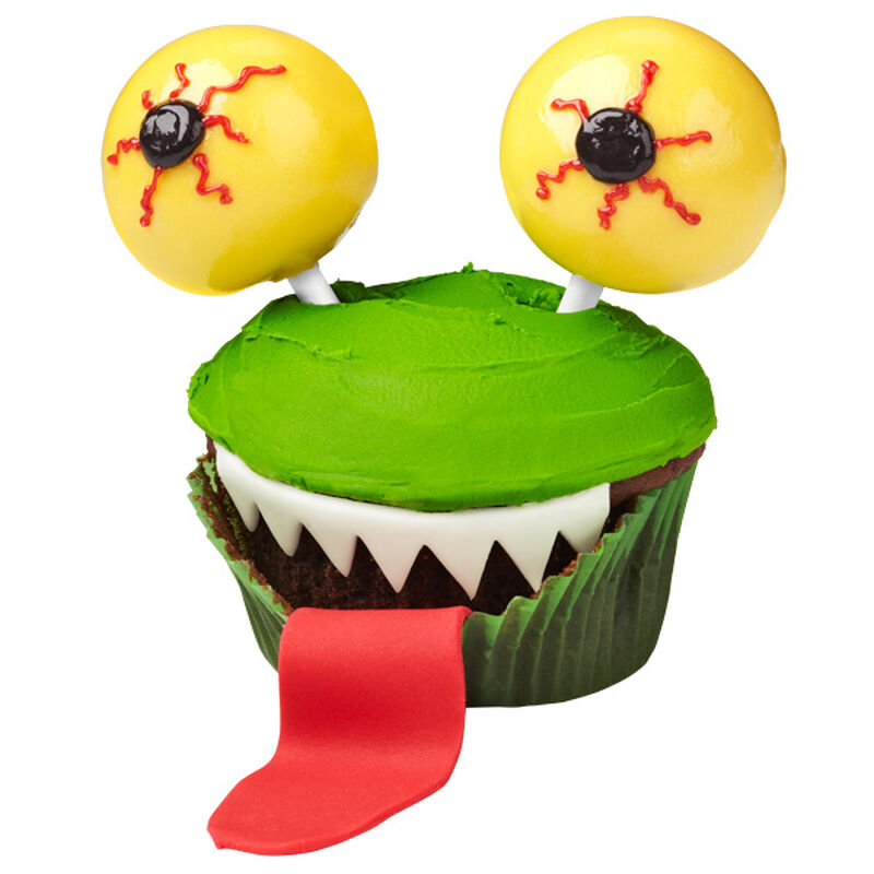 Eye-popping Green Monster Cupcakes image number 0