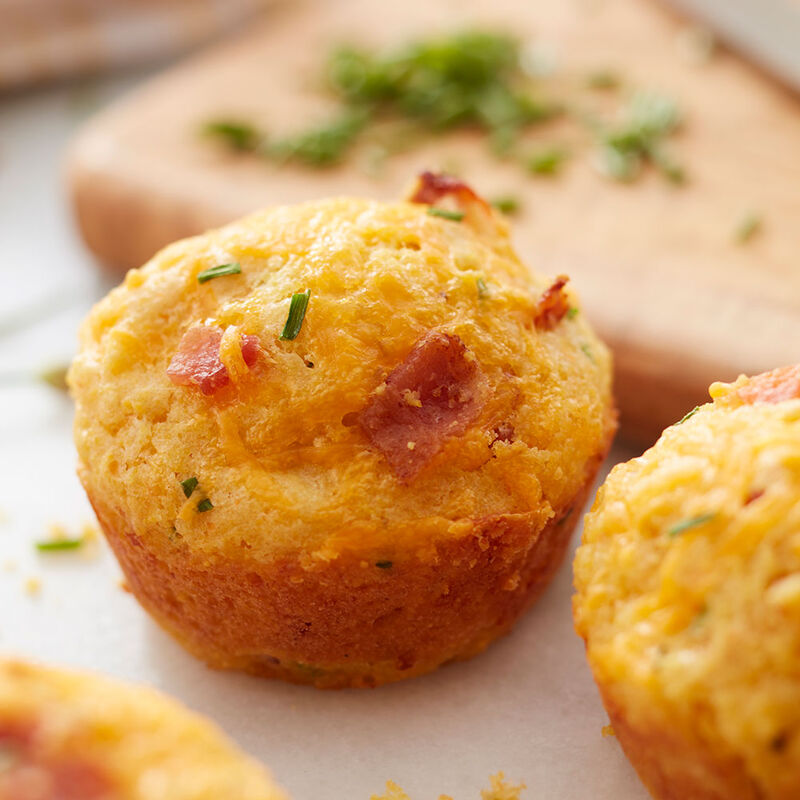 Bacon Cheddar Corn Muffins image number 1