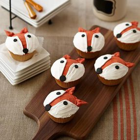 Fun Fox Cupcake