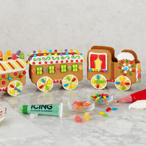 Christmas Express Gingerbread Train