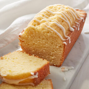 Mini Glazed Lemon Loaf Recipe