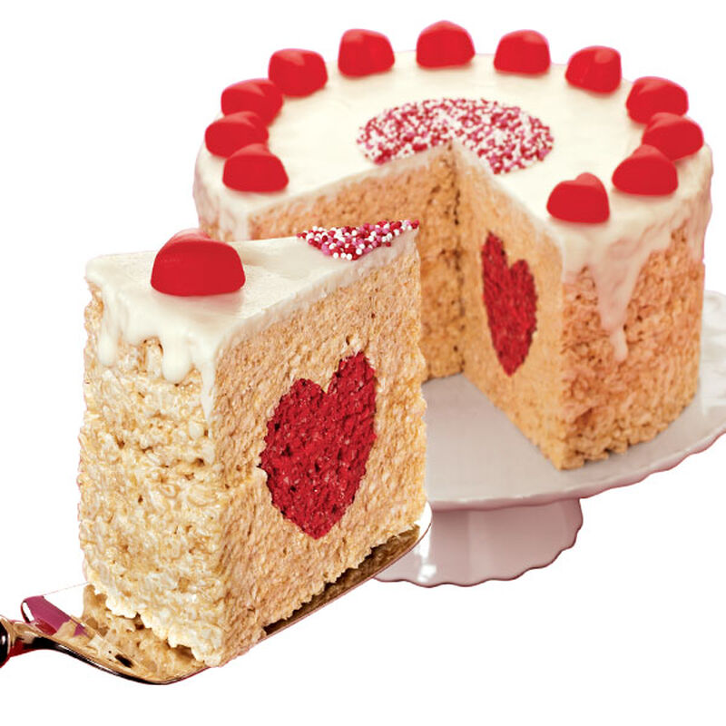 A Valentine Cake with Heart image number 0