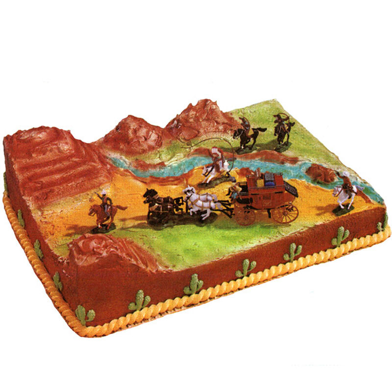 The Wild, Wild West Cake image number 0