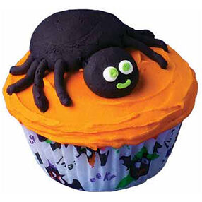 Spider Snack Cupcakes