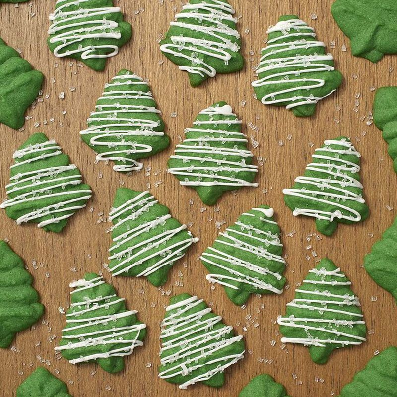 Christmas Tree Spritz Cookies image number 1