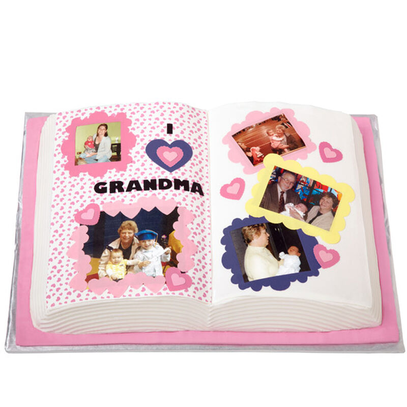 Layer the Love on for Grandma Cake image number 0