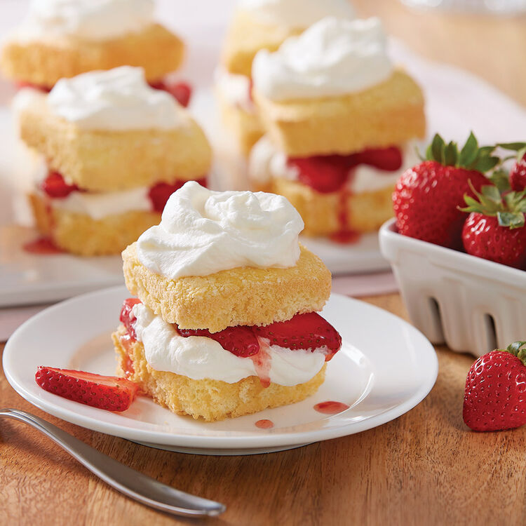 Easy Homemade Strawberry Shortcake Recipe Wilton