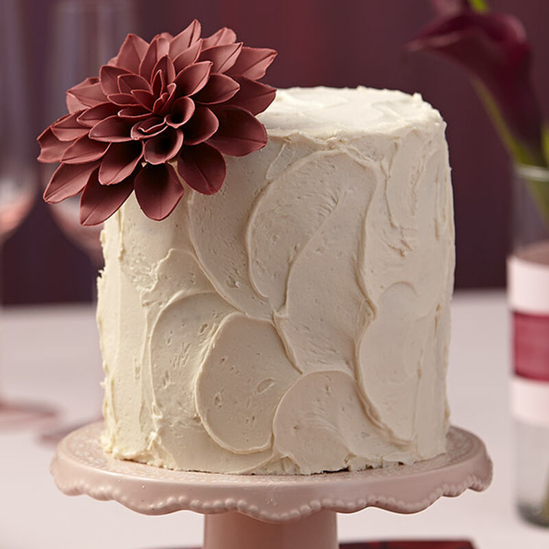 Lovely Marsala Wine Buttercream Layer Cake image number 0