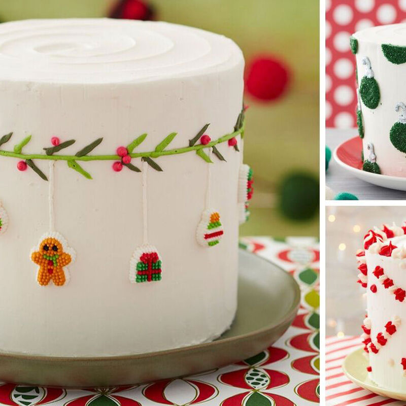 How to Make 3 Easy Christmas Cakes