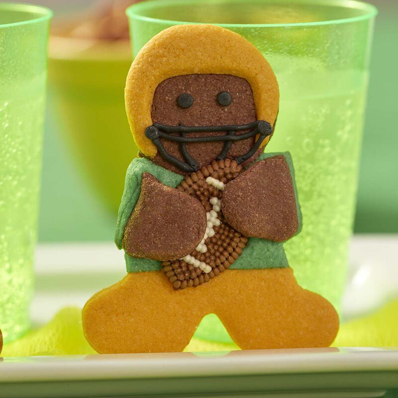 Wilton Gingerbread Boy Football Hero Cookies image number 1