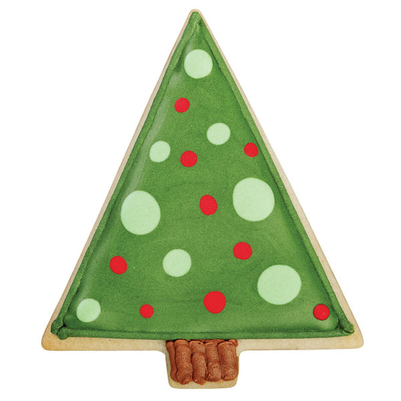 Pop-Art Christmas Tree Cookie image number 0