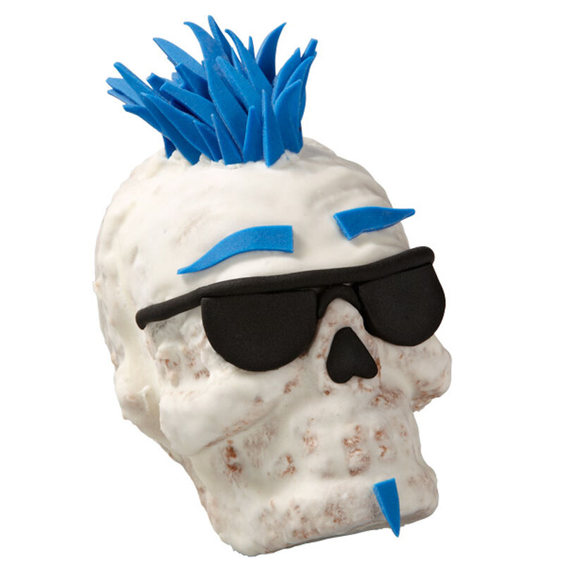One Cool Dude Skull Mini Cakes image number 0