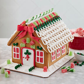 Dressed for the Holidays Gingerbread House #1