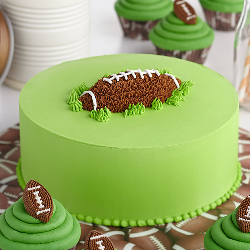 First Down and Fun Football Cake image number 0