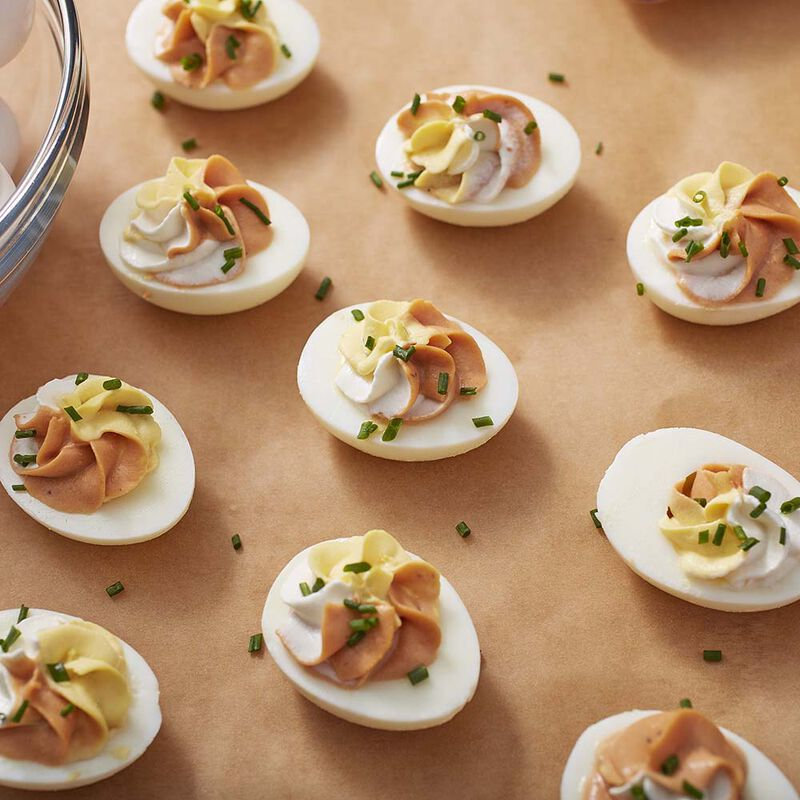 Wilton Spicy BBQ Deviled Eggs image number 0