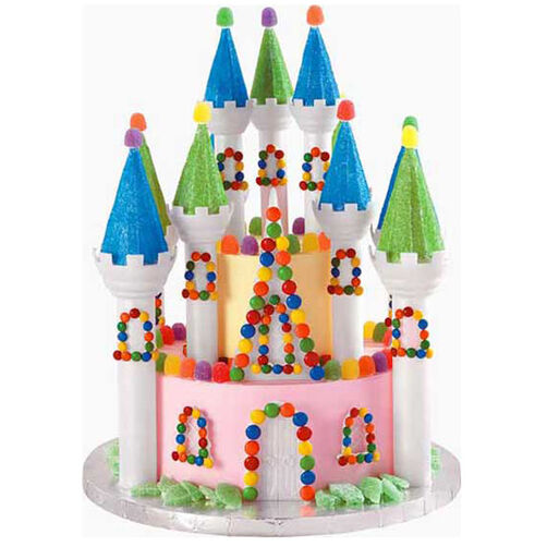 Candy Castle Cake