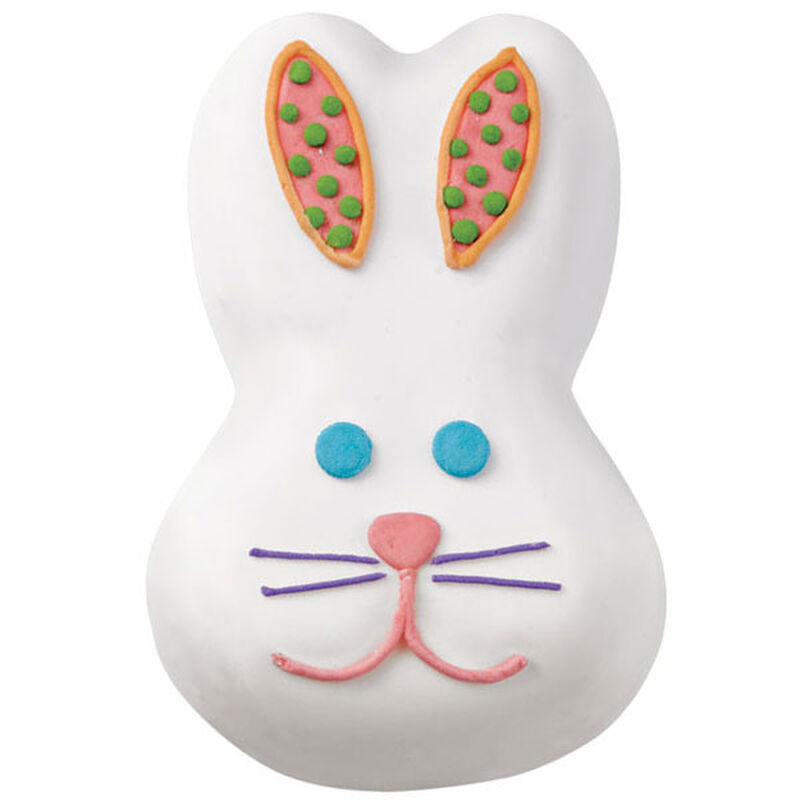 Smiling Easter Bunny Mini Cakes image number 0