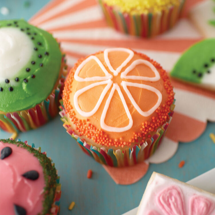 The Fruits of Summer Cupcakes