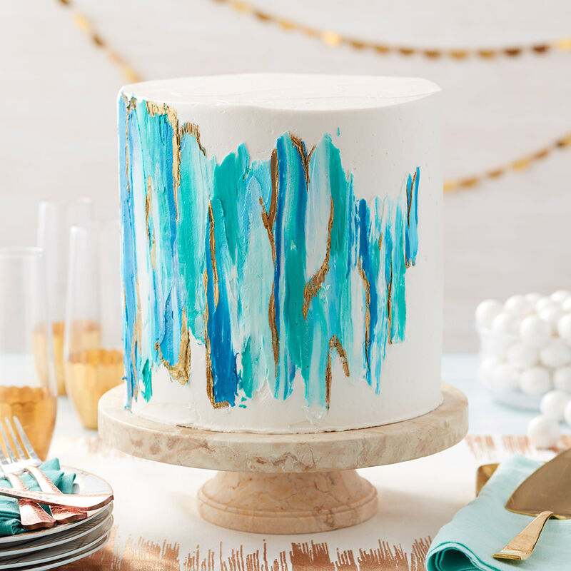 How to make edible cake paint image number 1