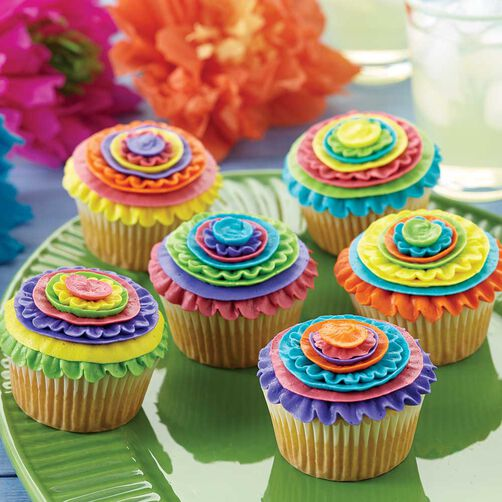 Celebrate Cinco De Mayo Cupcakes Wilton