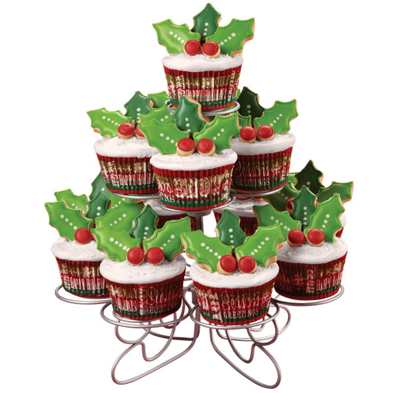 Holly and the Ivy Christmas Cookies and Cupcakes image number 0